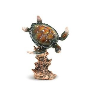 Diving Honu Figurine