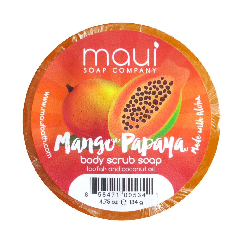 Mango Papaya Body Scrub Soap