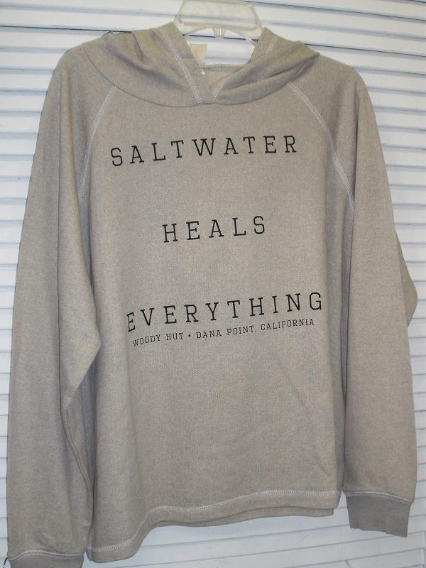 Saltwater Heals Everything In Grey