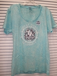 Flip Flop Ladies T in Mint
